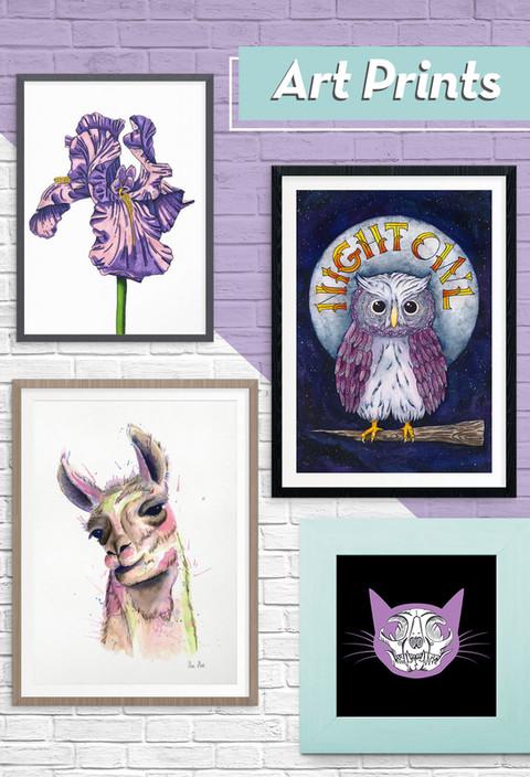Art Prints by Lee Lee Arts