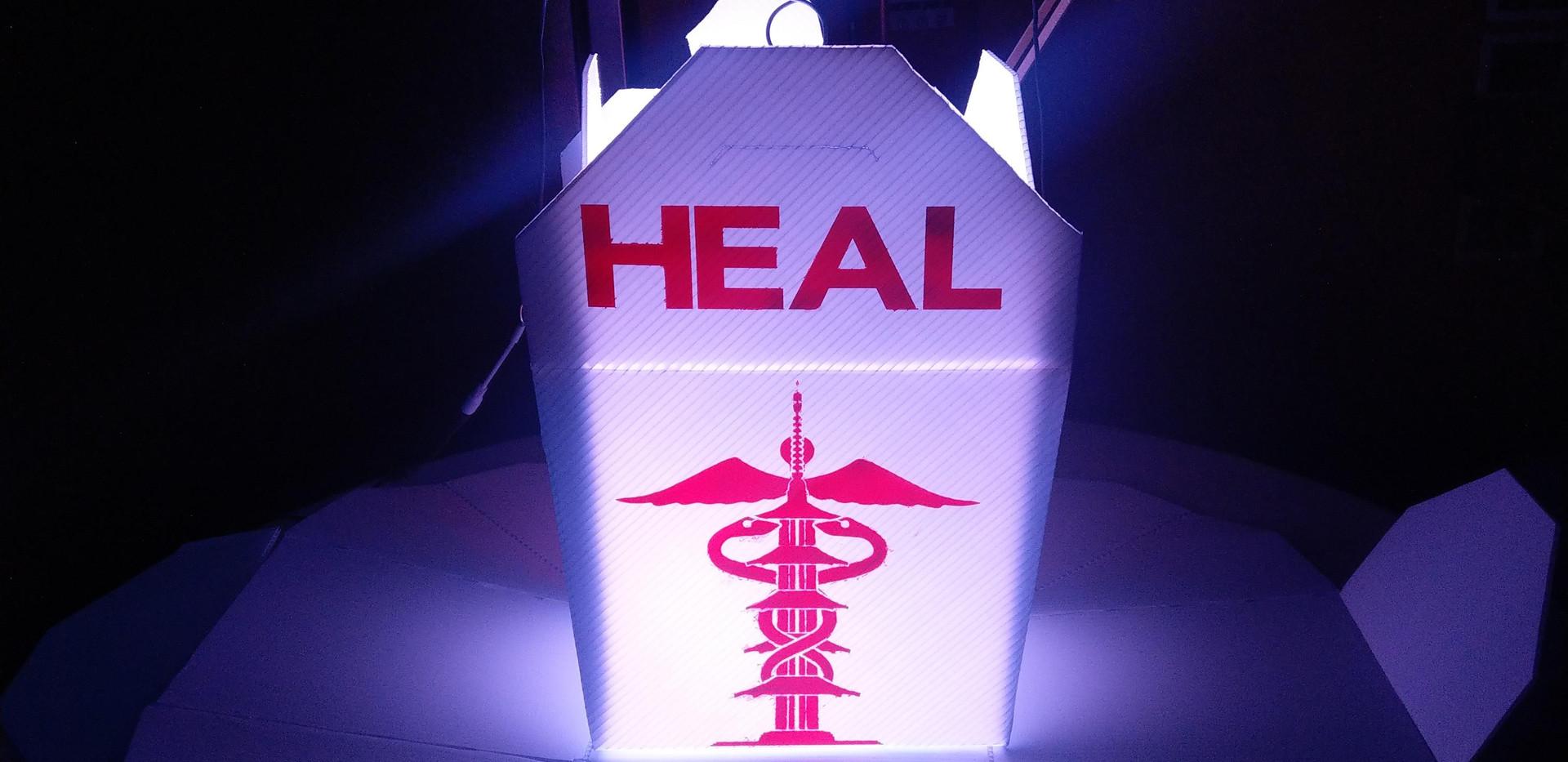 SF Peace Pagoda Heal Staff