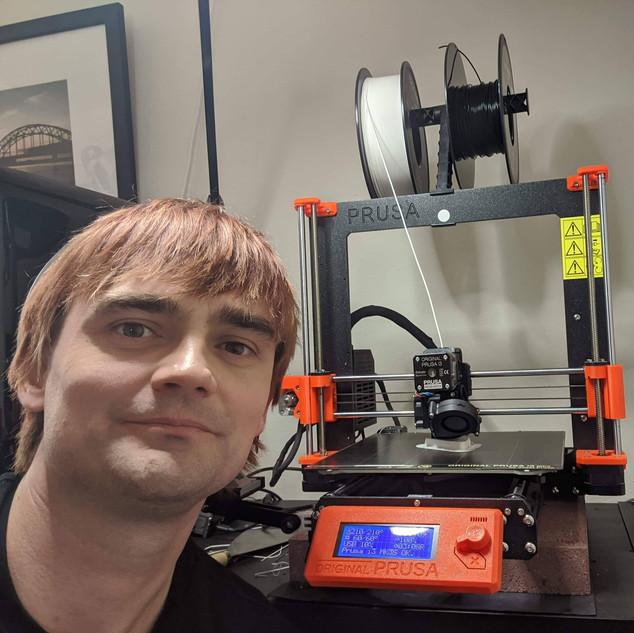 Girts the 3D printing savior!