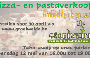 Pizza- en pastaverkoop