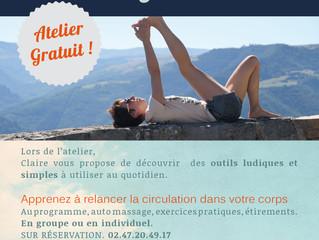 Atelier jambes légères !! Le mercredi 17 mai .