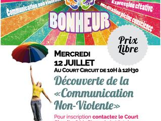 Atelier découverte Communication Non Violente au Court Circuit !!