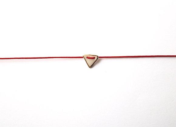 Bracelet triangle contour