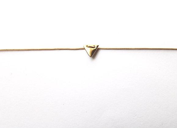 Bracelet Triangel pure gold