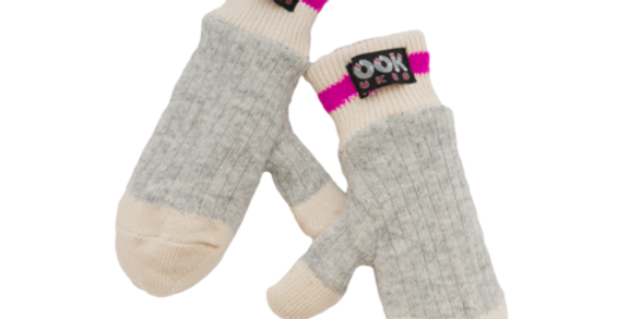 Pook Dukes Pink Child Mitts  (996713)