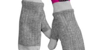 Pook Dukes Pink Adult Mitts  (040)
