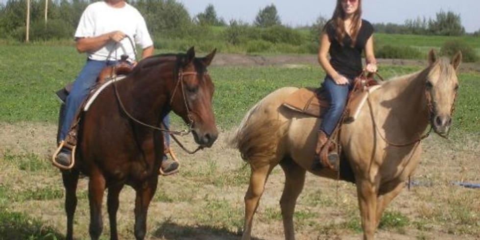 March Horseback Riding
