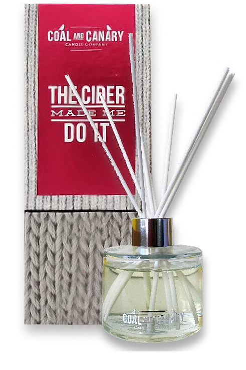 The Cider Made Me Do It Reed Diffuser