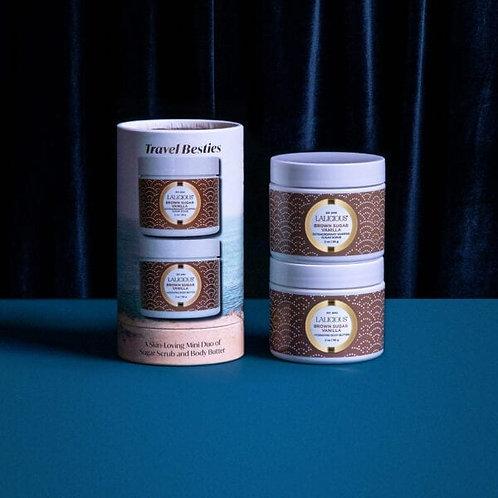 Brown Sugar Vanilla Scrub & Body Butter Duo