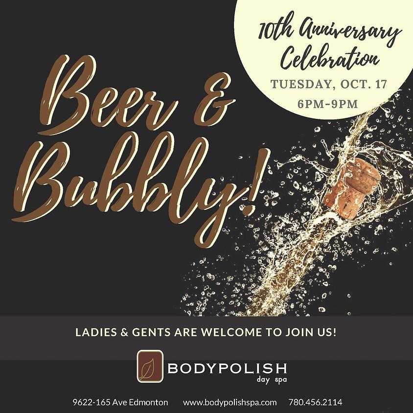 Body Polish 10th Anniversary Beer & Bubbly