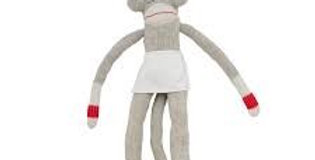 Grandma Pook Sock Monkey   (996712)