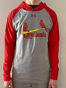Cardinals light training hoodie (red) _f