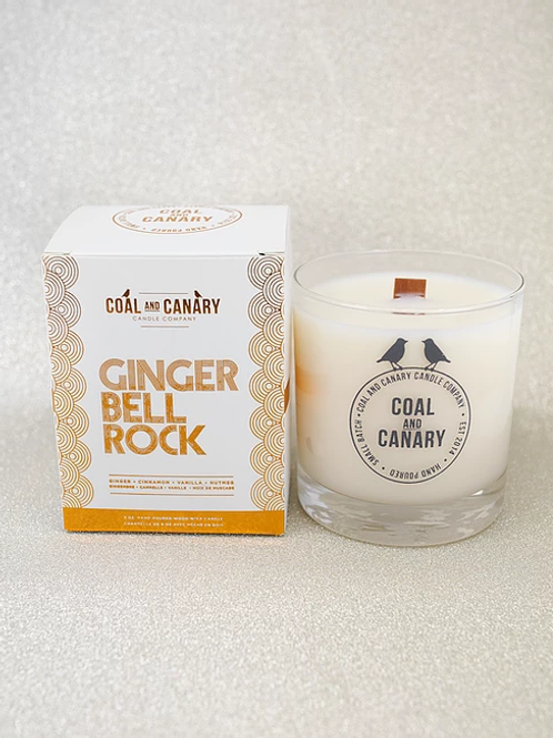 Ginger Bell Rock Candle