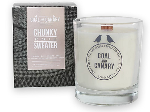 Chunky Knit Sweater Candle