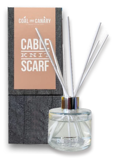 Cable Knit Scarf Reed Diffuser