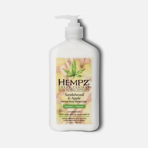 Hempz Fresh Fusions Sandalwood & Apple Herbal Body Moisturizer