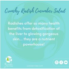 Crunchy Radish Salad