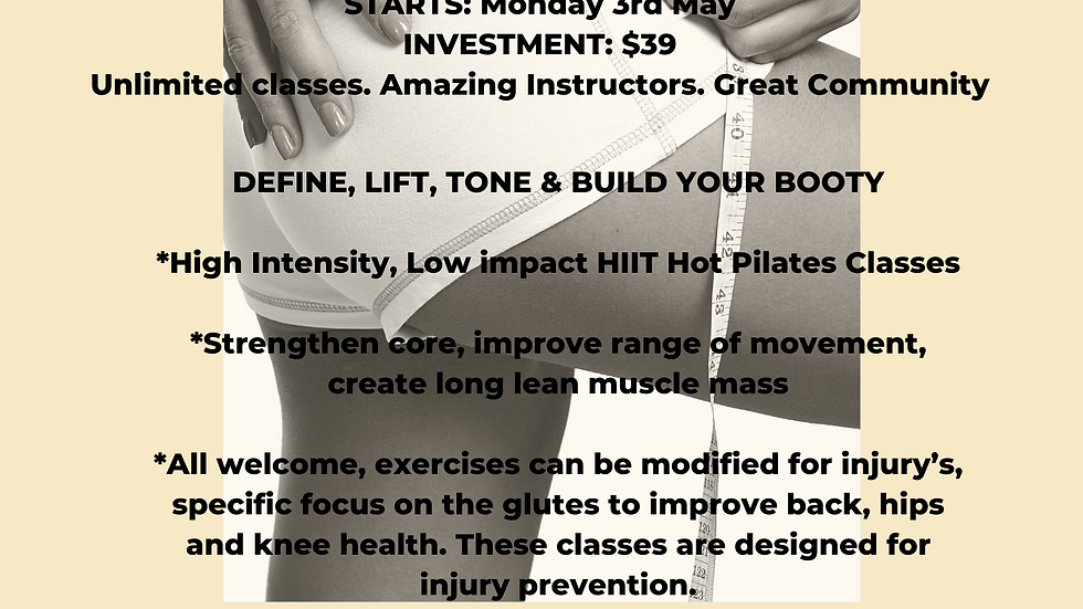 Booty Bootcamp