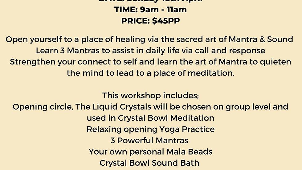 Mantra Meditation Workshop
