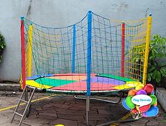 Cama Elástica Média Play Diversão Aluguel de Brinquedos