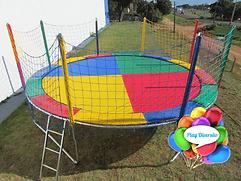 Cama Elástica Gigante para Aluguel da Play Diversão
