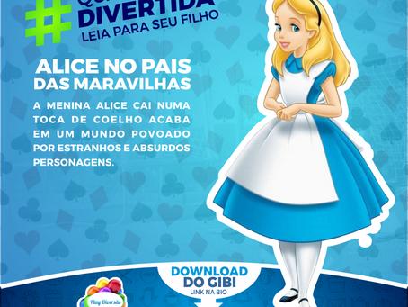 LIVRO ALICE NO PAÍS DAS MARAVILHAS