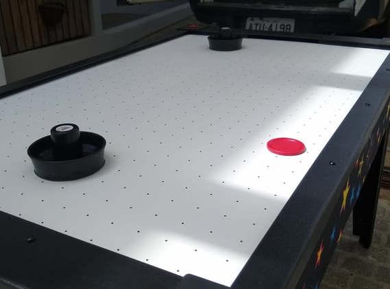 mesa de air hockey para locação