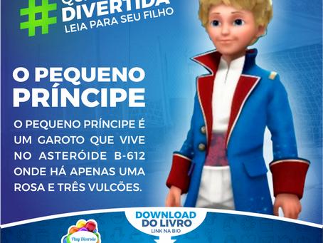 """LIVRO """"O PEQUENO PRÍNCIPE"""" EM PDF"""