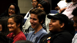 A group TexPrep students at the TCC South Campus.