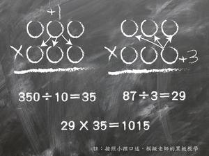 學乘法,需建立圖像觀點