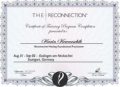 Reconnective Healing® - Practitioner Karin Kowarschik