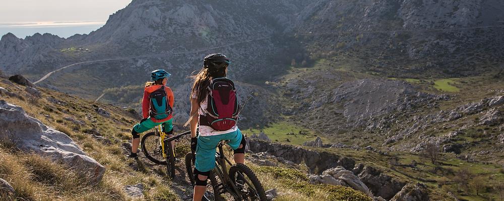 Der Mountainbikerucksack ein wichtiger Wegbegleiter und gleichzeitig ein Rückenprotektor