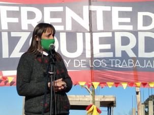 """Romina Del Plá: """"Llegamos a diez años de defender un concepto de unidad de la izquierda"""""""