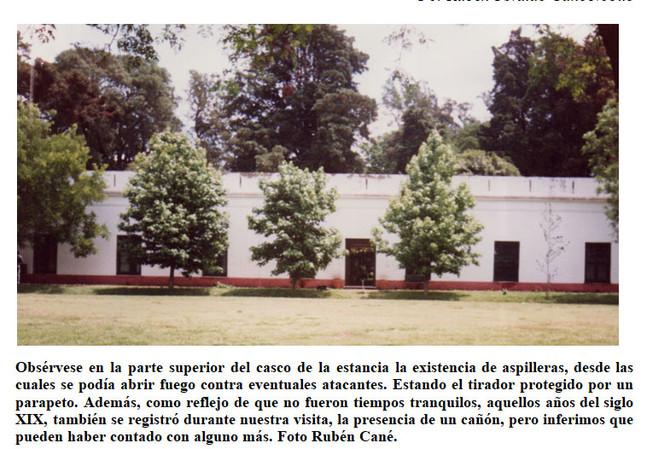 Historia de la Estancia de López y de sus Primeros Propietarios