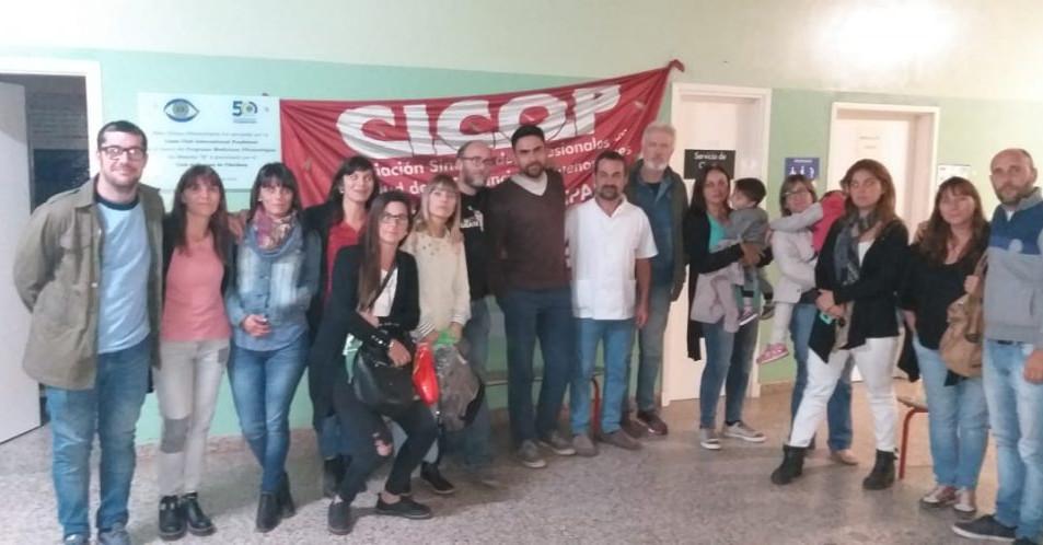CICOP Profesionales de la Salud de Chivilcoy en Estado de Alerta y Asamblea Permanente