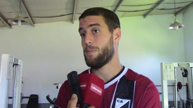 """Marcos Salvaggio """"Es una satisfacción muy linda el hecho de poder afianzarnos en la punta"""""""