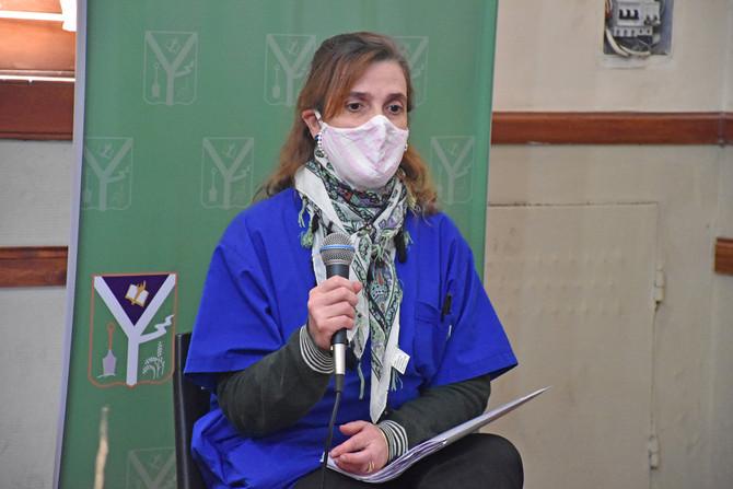 """Dra. Marcela Conde: """"No sobran los médicos, somos un grupo de pocos lo que estamos trabajando"""""""