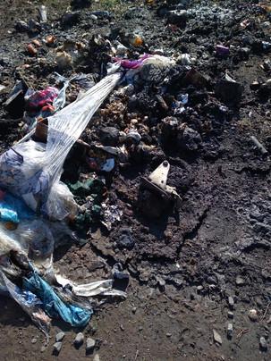 Vecinos denunciaron siniestros en contenedores de residuos