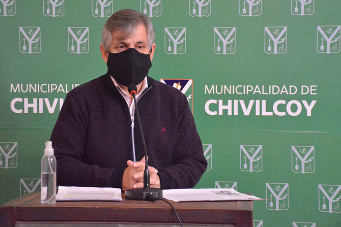 """""""La prioridad es cuidar la salud, pero lo único  pedimos que se contemple a Chivilcoy como al AMBA"""""""