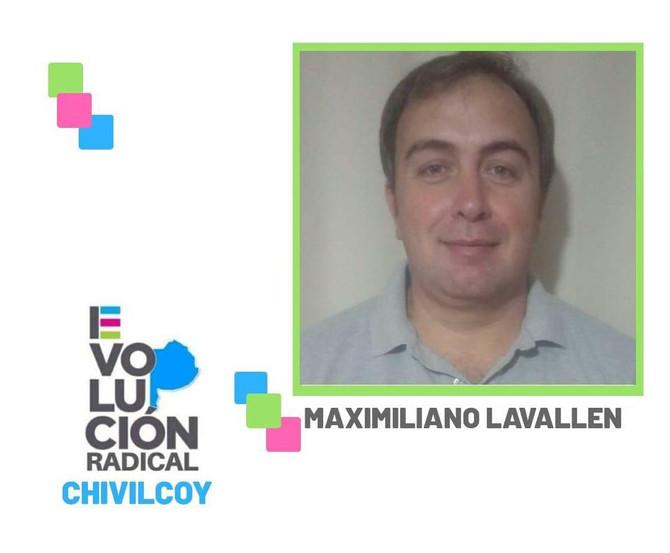 """Maximiliano Lavallén """"Evolución Radical es una propuesta renovadora que tiene cada vez mayor nivel d"""