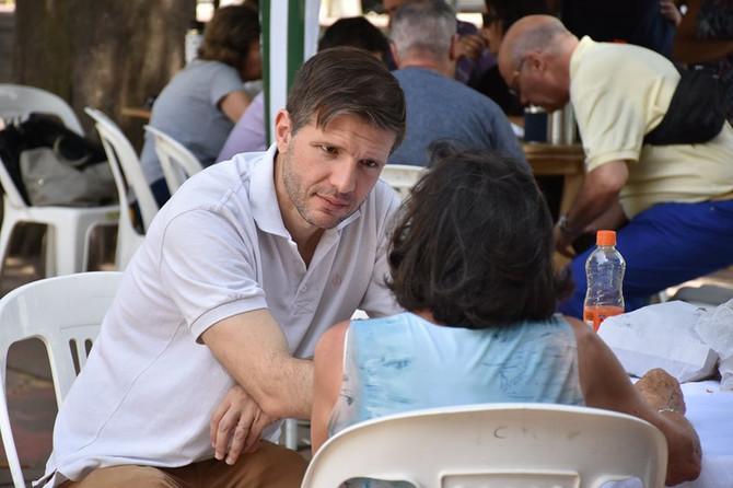 """Dr. Juan Ignacio Curcio """"La persona que hace política tiene la posibilidad de cambiarle la vida a la"""