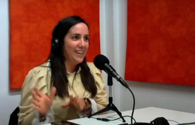"""Dra. Agustina Palmegiano: """"La Endocrinología es una especialidad súper amplia y también compleja"""""""