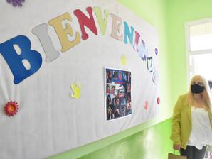 """Marcela Sabella: """"Son muchas las escuelas que se beneficiaron con esta clase de obras"""""""