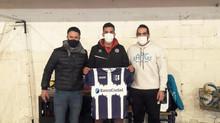 Reconocimiento del Club Atlético Villarino a Franco 'Pachi' Massimino