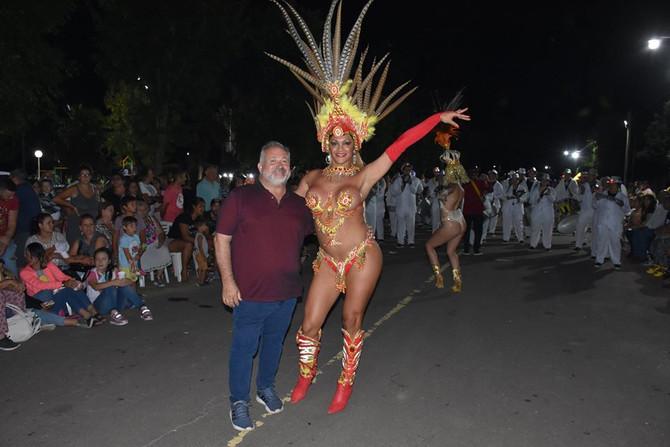 """Carnavales y obras  """"Tenemos muchos planes para Benítez"""", remarcó Gustavo De Vito"""