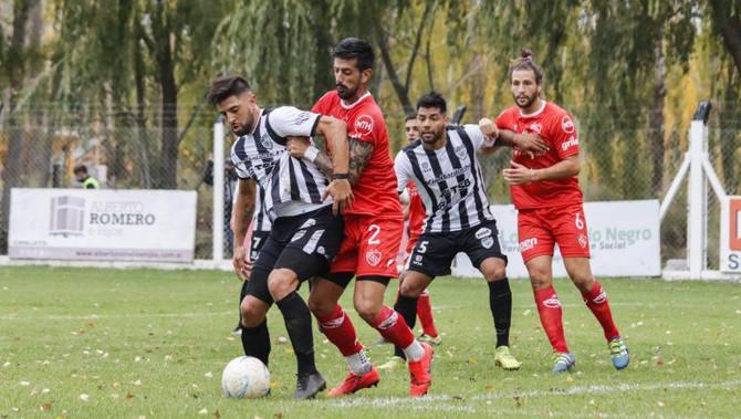 Fútbol: Cipolletti e Independiente repartieron goles y puntos