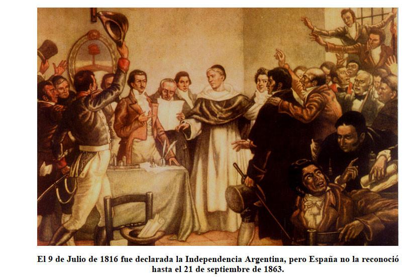 EFEMÉRIDES DEL MES DE JULIO: 9 DE JULIO DÍA DE LA INDEPENDENCIA