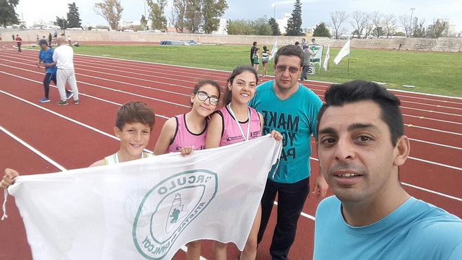 Festival Nacional U 14 en la pista platense con presencia chivilcoyana