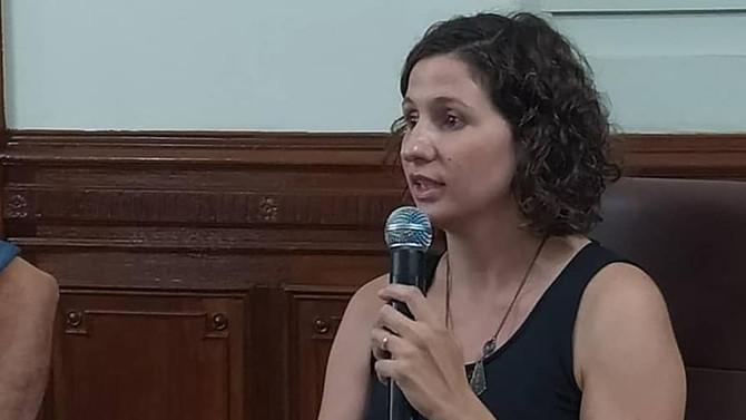 """Carla Tomasini """"El Concejo no está cerrado ni paralizado sino que buscamos una metodología para pode"""