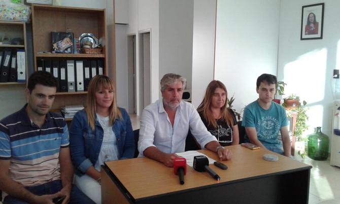 """Bloque 1País  """"No seremos partícipes de esa sesión extraordinaria"""", confirmó Lucas Burgos"""